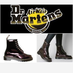 🆕💜 DR MARTENS PURPLE PATENT BOOTS💜🆕